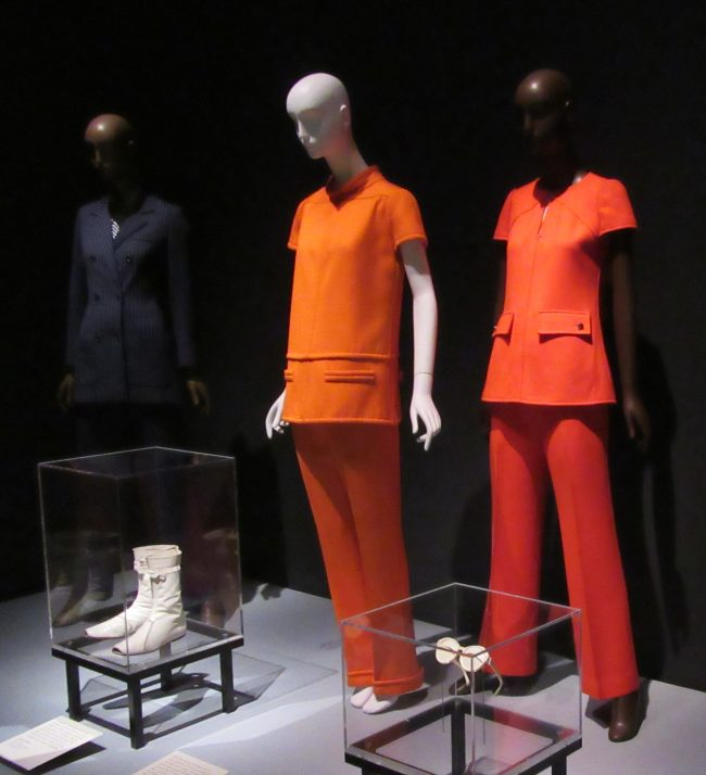 Installation View with Pantsuits