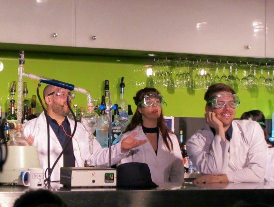 Imbible Cast Chemists