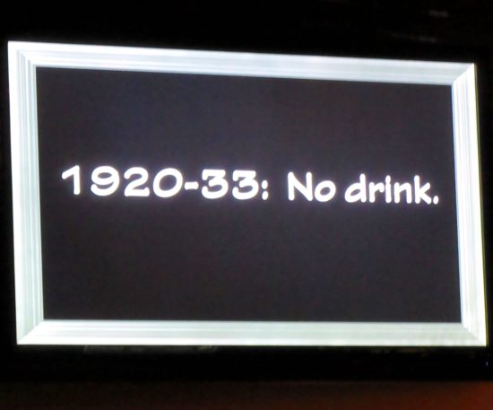 Dates of Prohibition