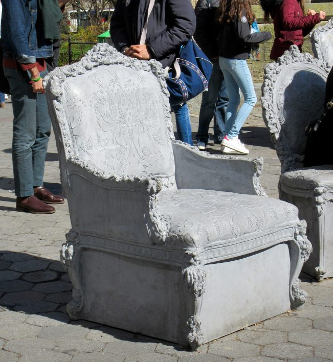Cement Chair