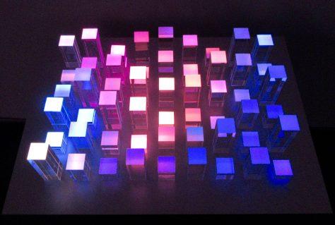Jim Campbell Changing Light Sculpture
