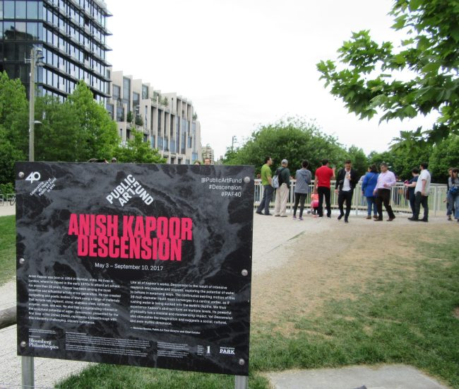 Decension Signage and Entrance