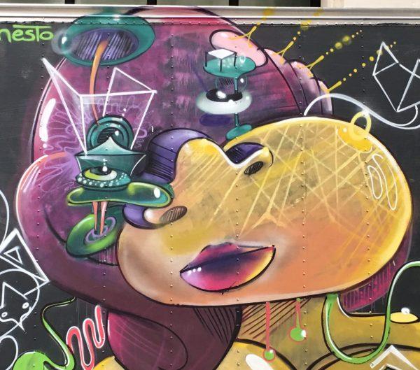 Graffiti Truck Cern Detail