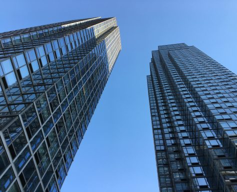 Silver Towers Vertical View