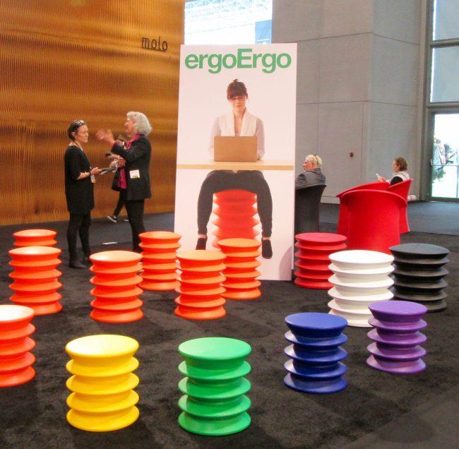 ergoErgo Booth at ICFF