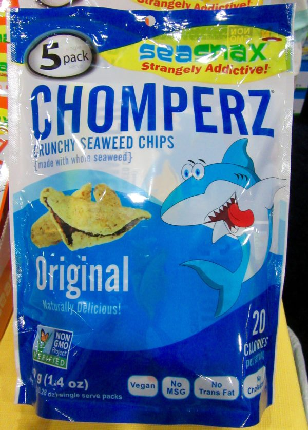 Chomperz Seaweed Chips