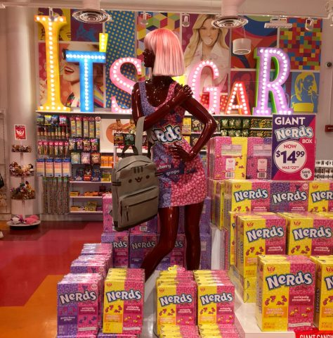 Nerds Candy Store Display