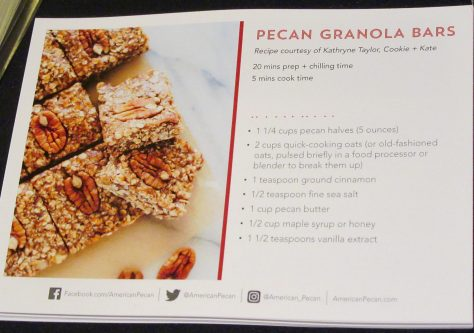 Pecan Granola Bar Recipe