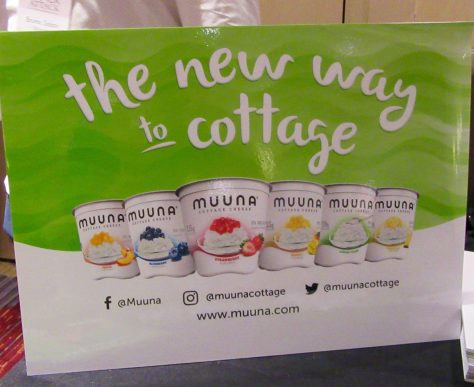 Muuna Cottage Cheese Signage