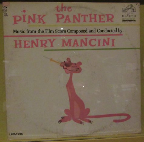 Pink Panther Film Soundtrack By Henry Mancini