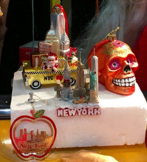 NYC Xmas Halloween Window Display