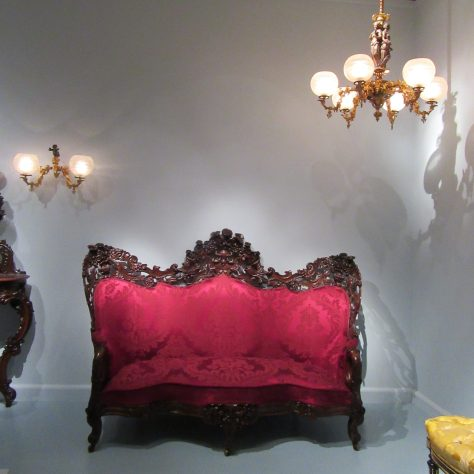 Rosewood Sofa Installation View