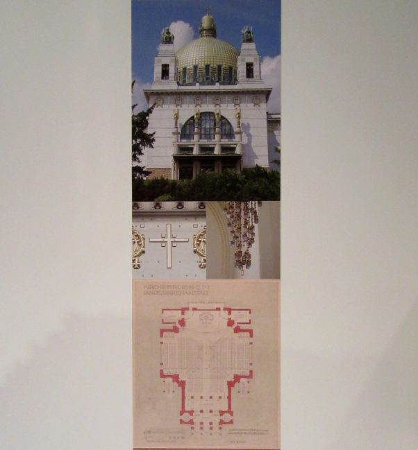 Otto Wagner Steinhof Church Plan Drawings