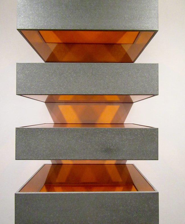Donald Judd Untitled Stack 1970 Detail