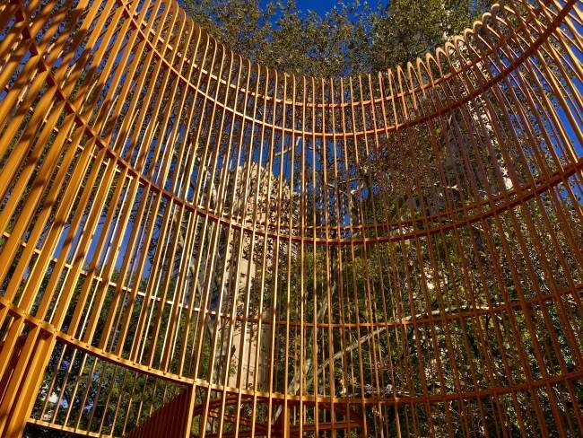 Gilded Cage Central Park Top Detal