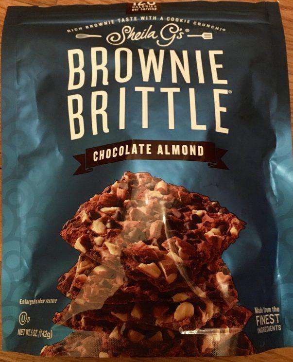 Chocolate Almond Brownie Brittle