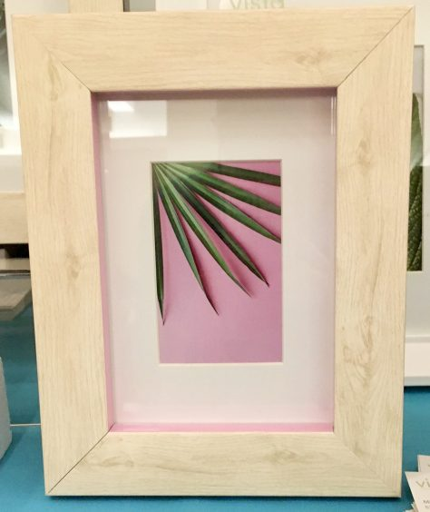 Pink Accent Frame