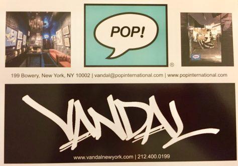 Vandal Pop Post Card