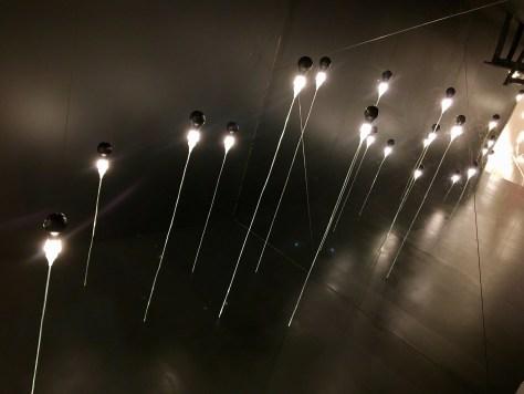 Reverse Room Suspended Bulbs
