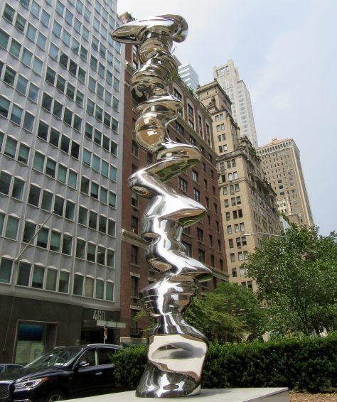Elliptical Column, 2012, Park Avenue at East 57th Street