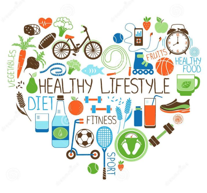 Healthy Lifestyle Graphic