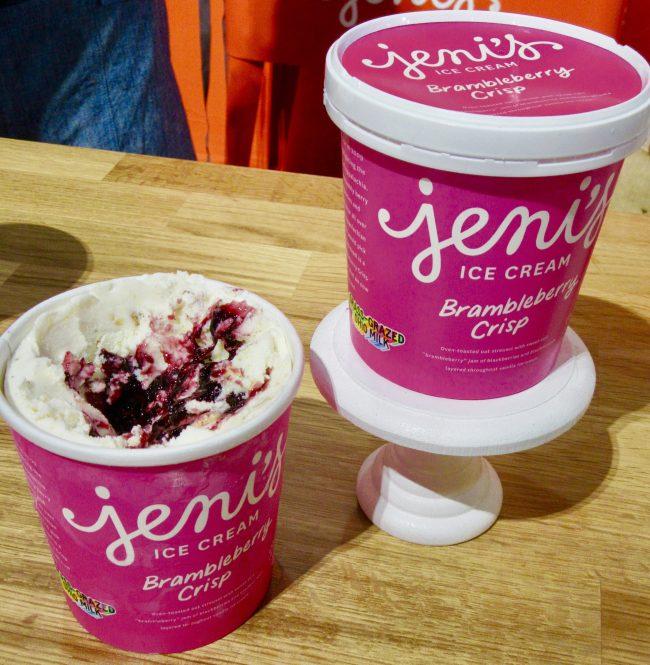 Jenji's Brambleberry Crisp Ice Cream