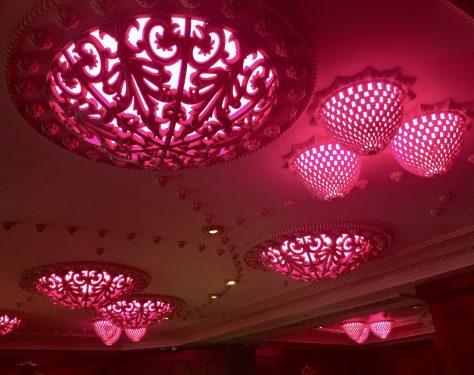 Pink Ceiling Lighting
