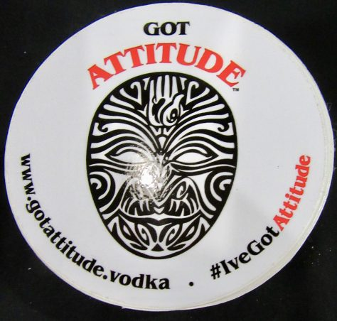 Attitude Vodka Logo