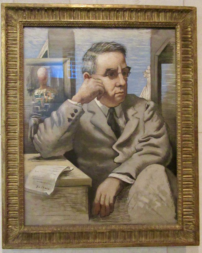 Portrait Of Albert C Barnes By Giorgio de Chirico
