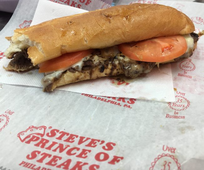 Steves Prince of Steaks Sandwich
