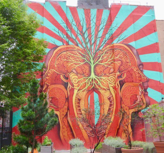 Beau Stanton Mural East Village