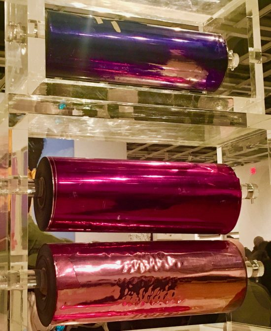 Mylar and Plexiglass Construction Detail