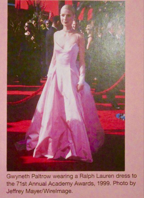 Gwyneth Paltrn in Ralph Lauren Evening Gown