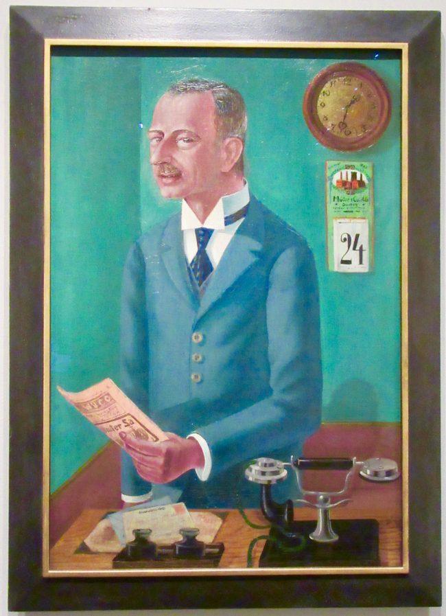 The Businessman Max Roesberg, Dresden