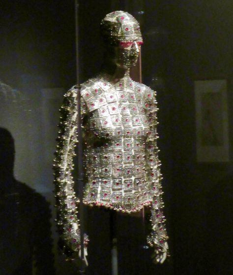 McQueen Metal Bodysuit