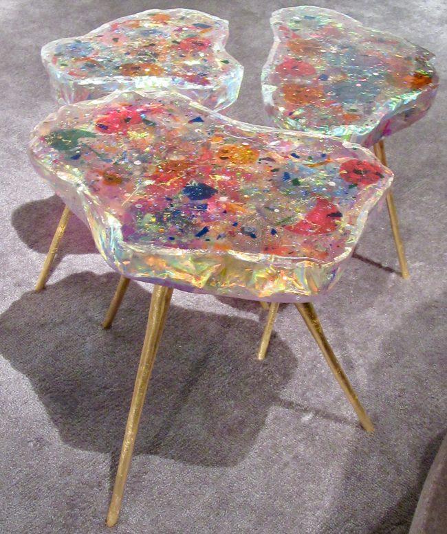 Petite Fleur Tables By Helene De Saint Lager