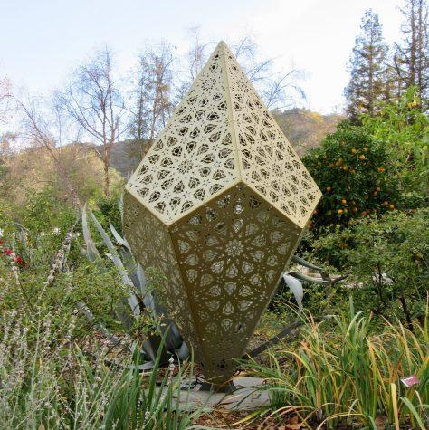 Prismatic Shape in Garden