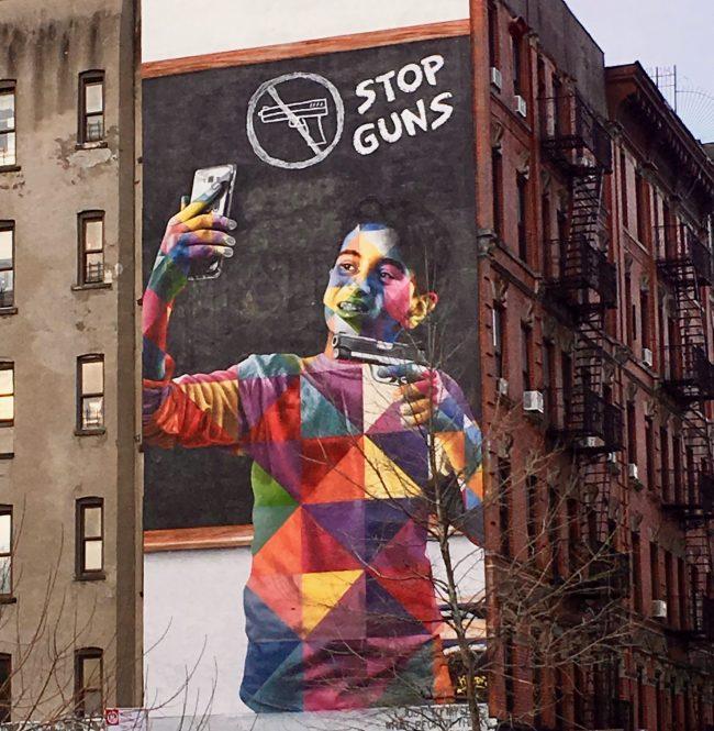 Kobra Anti-Gun Mural