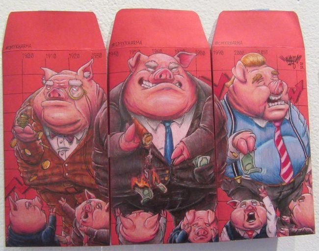 Boss Hogs By CMYKharma