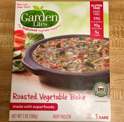 Roasted Vegetable Bake Packaging