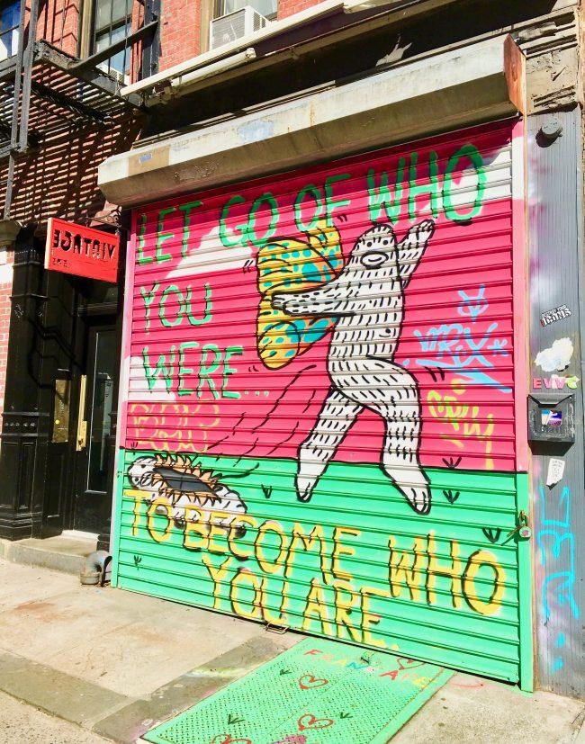 Frank Ape Butterfly Mural