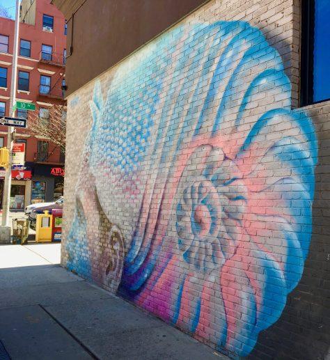 WERC Pantone Armadillo Mural