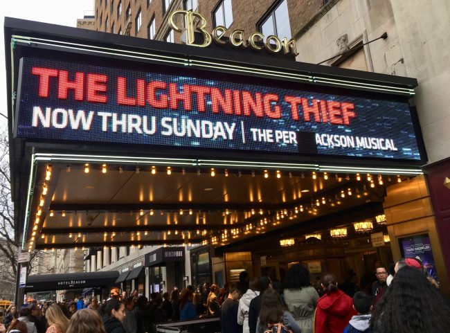 Lightning Thief Marquee