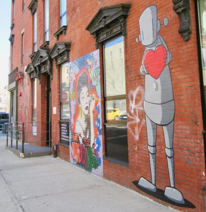 Chris RWK Robot Heart Mural
