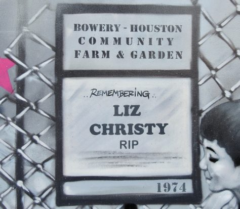 Liz Christy Sign