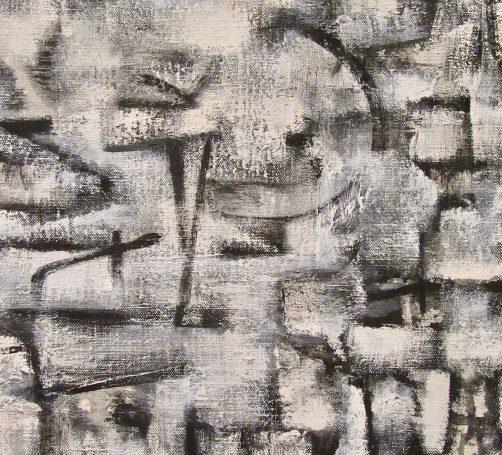 Ad Reinhardt Number 22 Detail