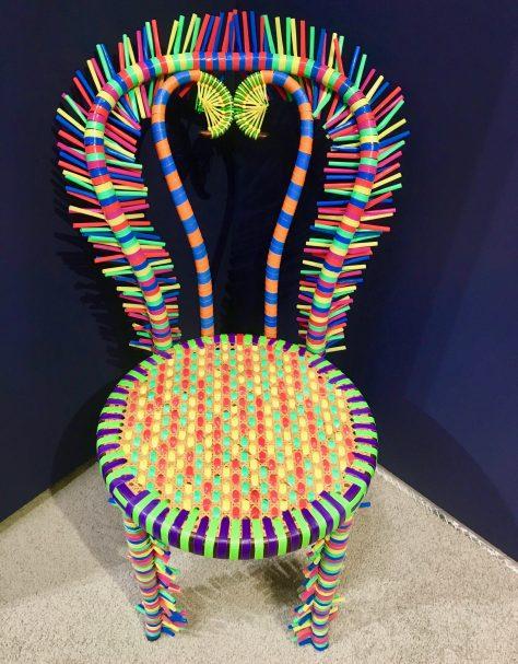 Nkondi Chair Detail