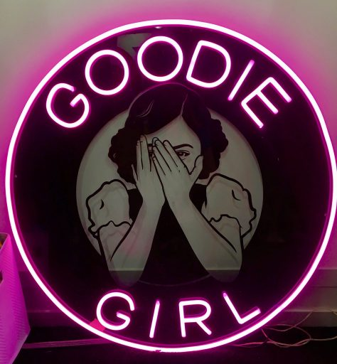 Goodie Girl Signage