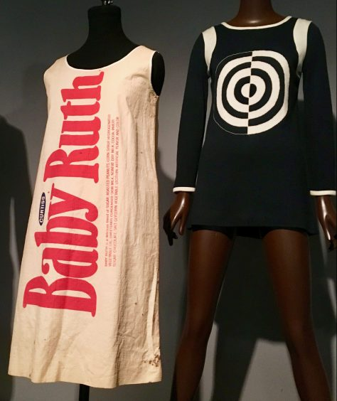 Baby Ruth Paper Dress