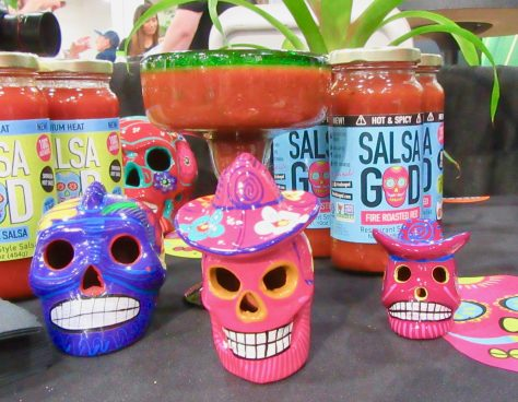 Salsa God Booth Display